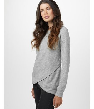 Ten Tree Women's Acre Long Sleeve - Grey Marled
