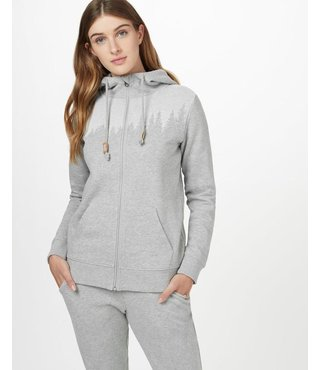 Ten Tree Women's Juniper Zip Hoodie - Grey Heather