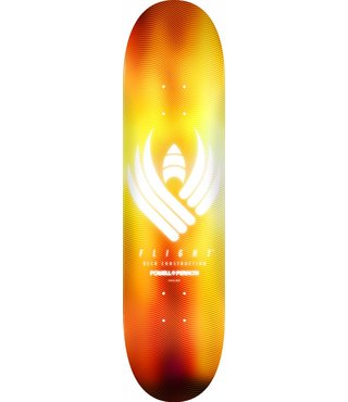 Powell Peralta Flight 8.5 Skateboard Deck Glow Gold