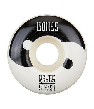 Bones STF Reyes Yin Yang V4 52mm White Skateboard Wheels