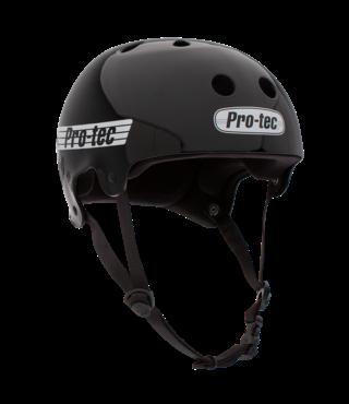 Pro-Tec Old School Skateboard Helmet - Gloss Black