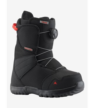 Kids' Burton Zipline Boa® Snowboard Boot - Black