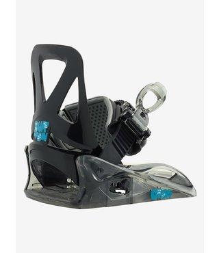Kids' Burton Grom Re:Flex Snowboard Binding - Black