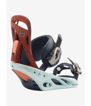 Women's Burton Scribe Re:Flex Snowboard Binding - Wood Grain Jane
