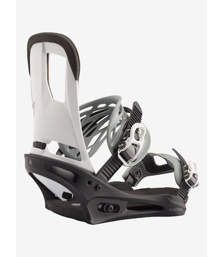 Men's Burton Cartel Re:Flex Snowboard Binding - Black/White