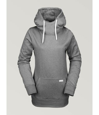 Volcom Women's Yerba Pullover Fleece - Heather Grey