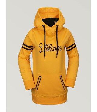 Volcom Women's Spring Shred Hoodie - Yellow