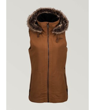 Volcom Women's Longhorn Vest - Copper
