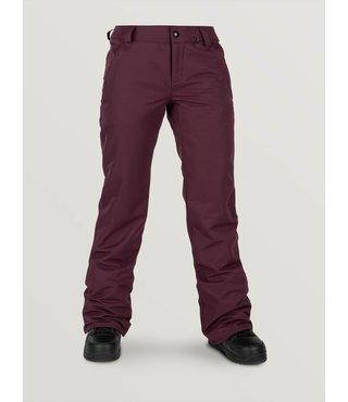 Volcom Women's Frochickie Insulated Snow Pant - Merlot