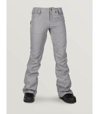 Volcom Women's Species Stretch Snow Pants - Heather Grey