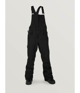 Volcom Women's Swift Bib Overall Snow Pant - Black
