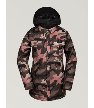 Volcom Women's Kuma Jacket - Faded Army