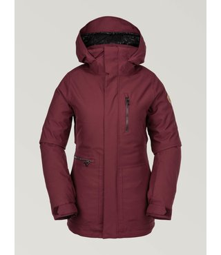 Volcom Women's Shelter 3D Strch Jacket - Scarlet