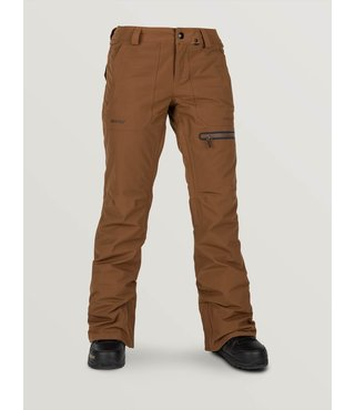 Volcom Women's Knox Insulated Gore-Tex Snow Pant - Copper