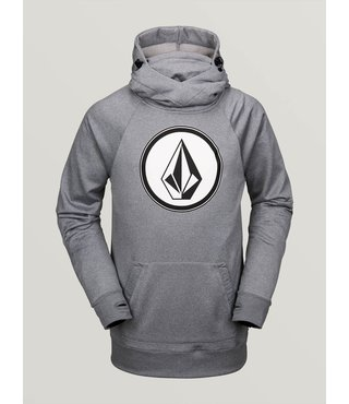 Volcom Men's Hydro Riding Hoodie -  Heather Grey