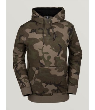 Volcom Men's JLA Pullover Fleece - Gi Camo