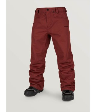 Volcom Men's Carbon Snow Pants - Burnt Red