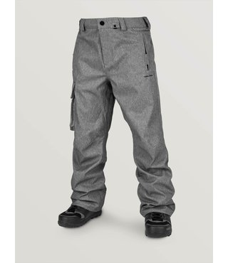 Volcom Men's Ventral Snow Pants - Heather Grey