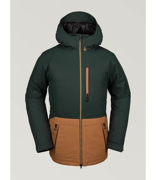 Volcom Men's Deadly Stones Insulated Jacket - Dark Green