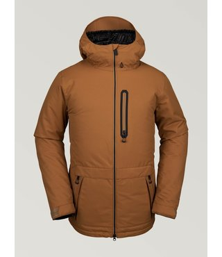 Volcom Men's Deadly Stones Insulated Jacket - Caramel