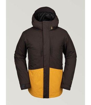 Volcom Men's Slyly Insulated Jacket - Vintage Black