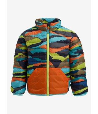Toddler Burton Evergreen Down Jacket - Summit Stripe