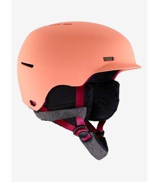 Women's Anon Raven Helmet - Coral