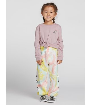 Volcom Little Girls Vol Stone Fleece Pants - Multi