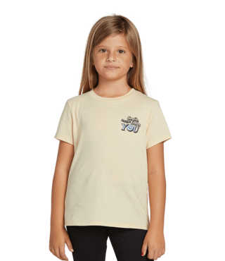 Volcom Girls Last Party Tee - Dust Yellow