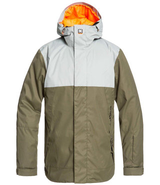 DC Defy Snow Jacket - Neutral Grey