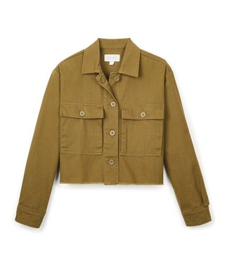 Brixton Abbot L/S Overshirt - Olive