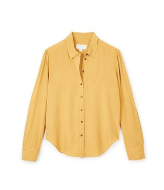 Brixton Kate Long Sleeve Shirt - Maize
