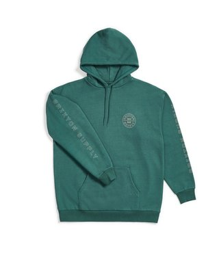 Brixton Oath IV Intl Hood Fleece - Emerald