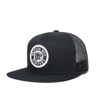 Brixton Forte MP Mesh Cap - Black/Aluminum