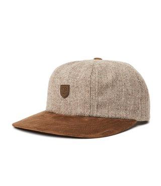 Brixton B-Shield III Cap - Brown Tweed