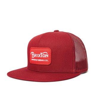 Brixton Grade Mesh Cap - Cardinal