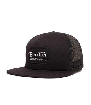 Brixton Grade Mesh Cap - Black/Black