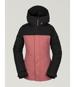 Volcom Women's Bolt Insulated Winter Jacket - Mauve