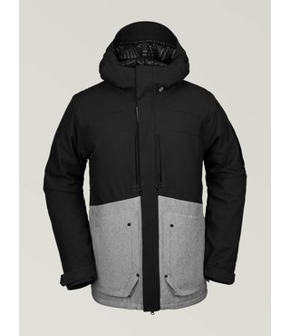 Volcom Men's Scortch Insulated Winter Jacket - H.Gry