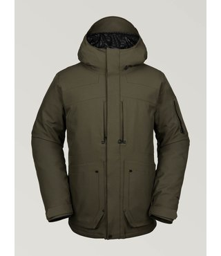 Volcom Men's Scortch Insulated Winter Jacket - Forest