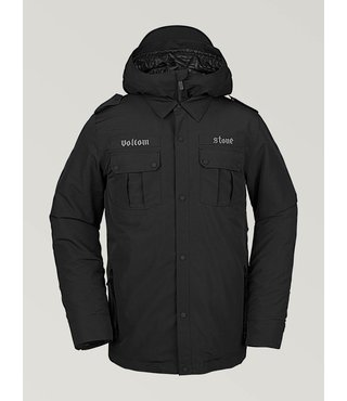Volcom Men's Creedle2Stone Winter Jacket - Black