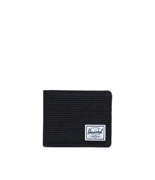 Herschel Roy Wallet - Dark Grid/Black