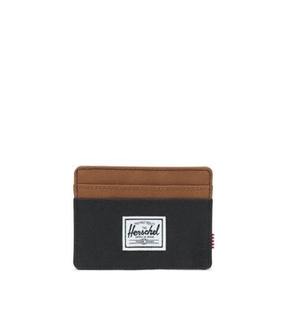 Herschel Charlie Wallet - Black/Saddle Brown