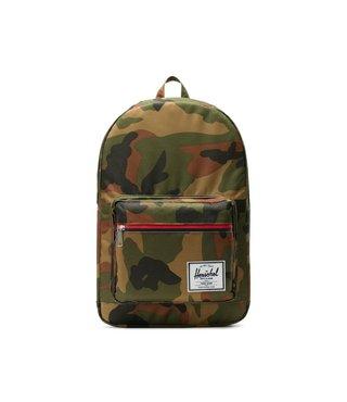 Herschel Pop Quiz Backpack - Woodland Camo Multi Zip