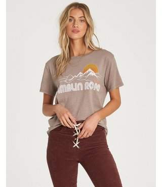 Billabong Ramblin Road T-Shirt - Cinder