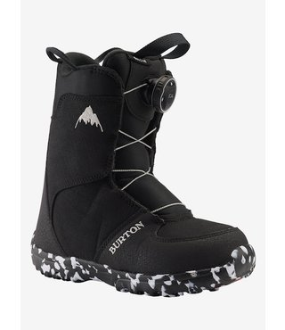Kids' Burton Grom Boa® Snowboard Boot - Black