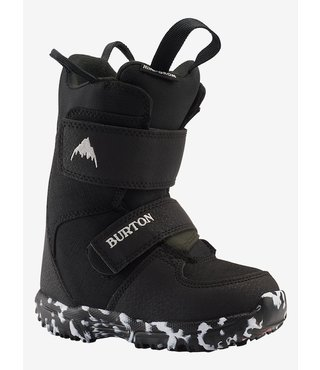 Toddler Burton Mini-Grom Snowboard Boot - Black