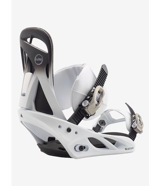 Women's Burton Scribe Re:Flex Snowboard Binding - Fade to White