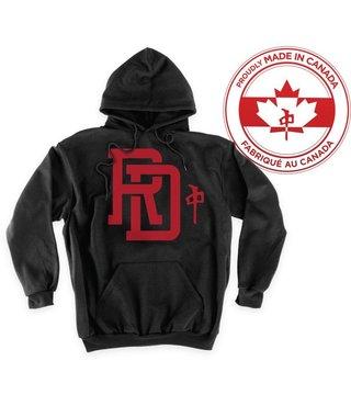 RDS Hoodie Monogram - Blk/Red