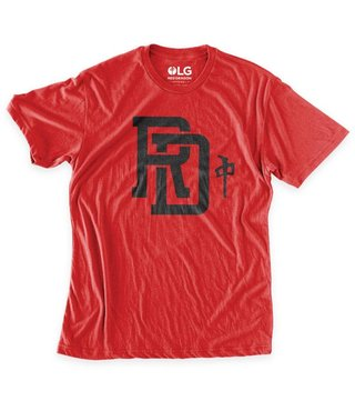RDS Premium T-Shirt Monogram - V.Red/Blk